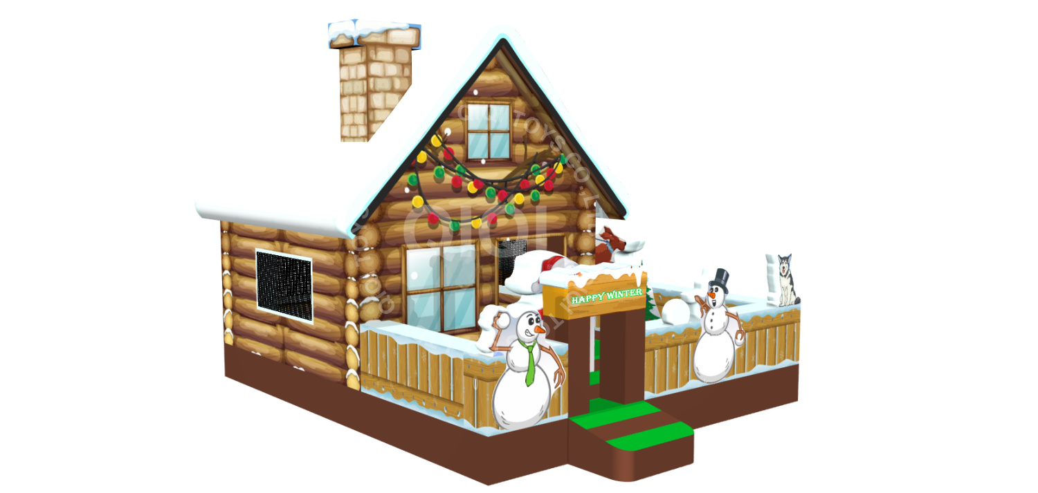 Winter Holidays playhouse