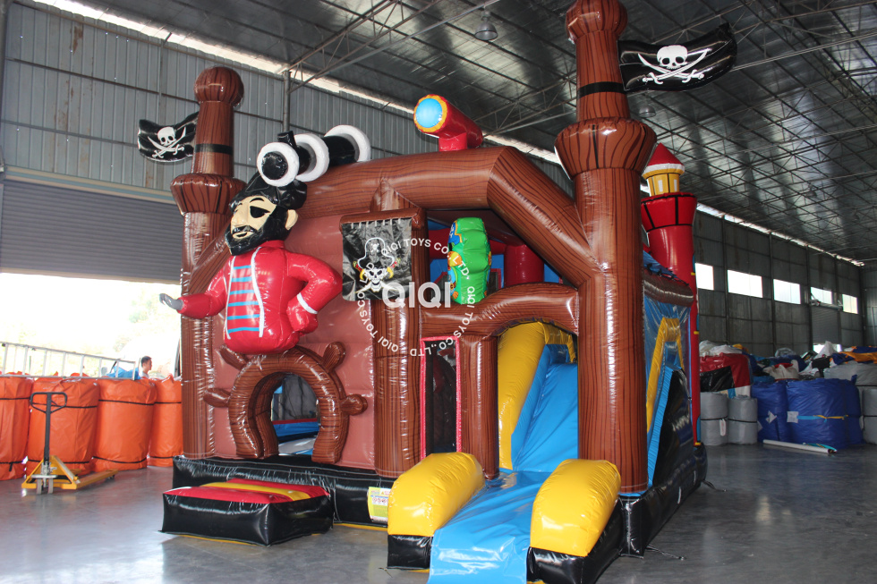 Pirate Inflatable Bouncy Castle
