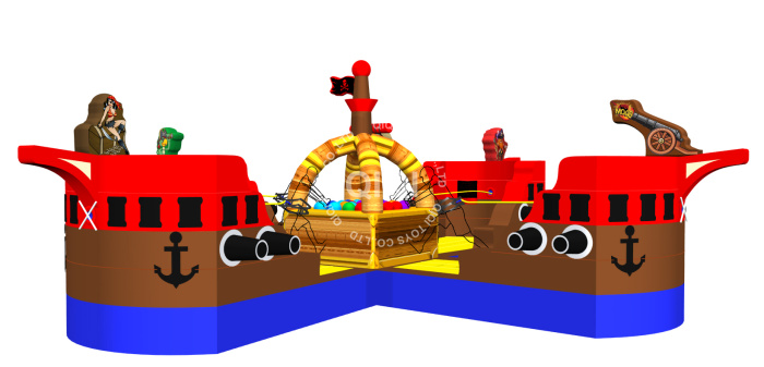 Pirate Ship inflatable sport