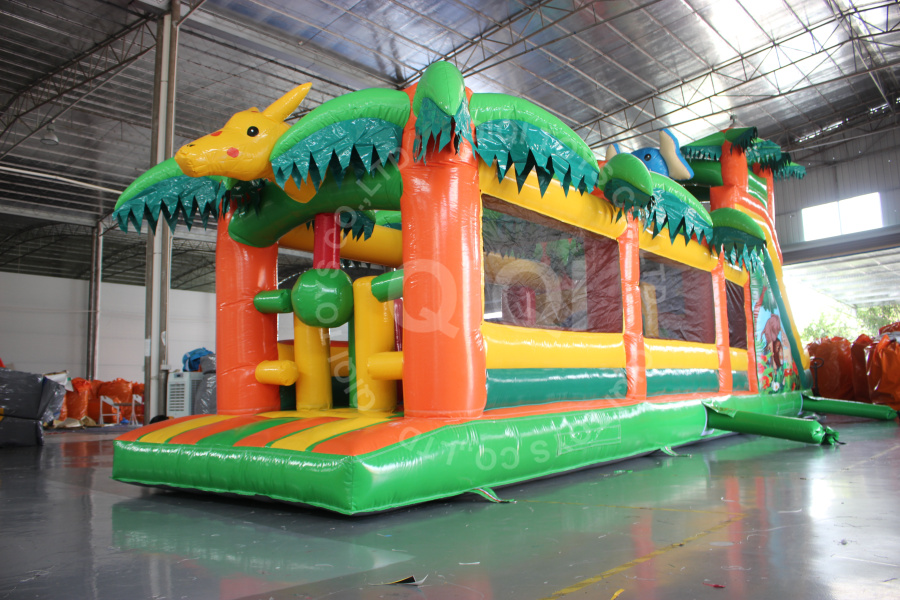 Inflatable Palm tree Obstacle Course