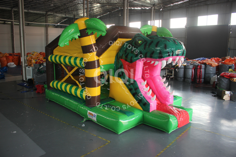 Jungle Dinosaur Bouncer